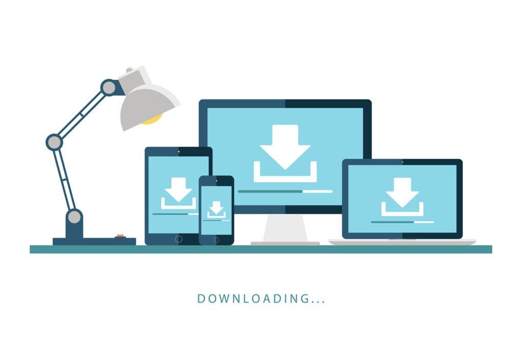 WordPress downloads website